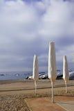 Spiaggia Mediterranea Immagine Stock