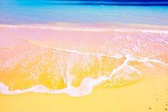 Spiaggia mediterranea splendida Fotografia Stock