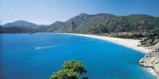 Spiaggia meravigliosa Fotografia Stock Libera da Diritti