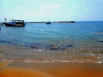 Spiaggia meravigliosa stupefacente di estate nel tacchino di estate Immagine Stock Libera da Diritti