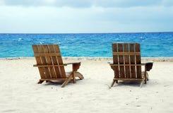 Spiaggia messicana Fotografia Stock