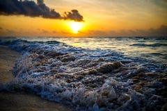 Spiaggia messicana Immagini Stock