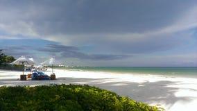 Spiaggia Messico di Maroma Fotografia Stock Libera da Diritti