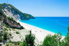 Spiaggia Milo Immagini Stock