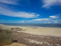 Spiaggia a Mombasa, Kenya Immagini Stock Libere da Diritti