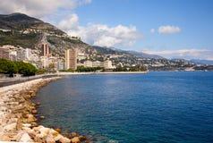 spiaggia, Monaco fotografia stock libera da diritti