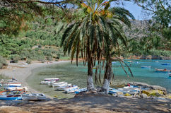 Spiaggia Mourtia Immagine Stock