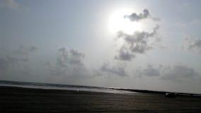 Spiaggia Mumbai di Gorai Immagini Stock Libere da Diritti