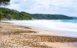Spiaggia nascosta Fotografie Stock Libere da Diritti