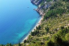 Spiaggia nascosta Immagine Stock