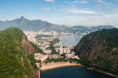 Spiaggia nascosta in Rio de Janeiro, Brasile Fotografia Stock Libera da Diritti