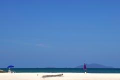Spiaggia in natura selvaggia di paradiso Fotografia Stock