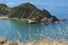 Spiaggia naturale fotografie stock