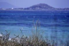 Spiaggia in naxos Fotografia Stock