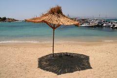 Spiaggia, Naxos, Grecia Immagini Stock