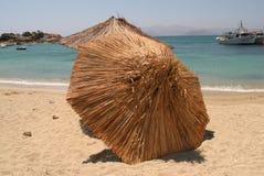 Spiaggia, Naxos, Grecia Fotografia Stock