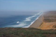 Spiaggia nazionale di Reyes del punto, California fotografia stock