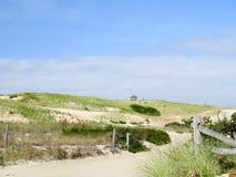 Spiaggia nazionale sul Capo Cod mA immagine stock