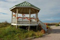 Spiaggia NC di Holden del Gazebo della spiaggia fotografie stock libere da diritti