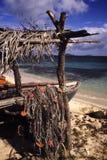 Spiaggia nei Caraibi Immagini Stock