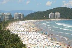 Spiaggia nel Brasile Immagine Stock