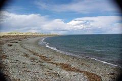Spiaggia nel Cile Fotografia Stock