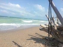 spiaggia nel freedem Fotografia Stock Libera da Diritti