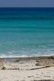 Spiaggia nel Messico Immagine Stock