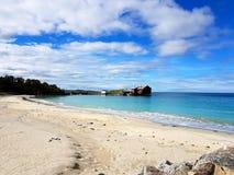 Spiaggia nel Nord della Norvegia Fotografia Stock Libera da Diritti