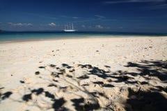 Spiaggia nel paradiso Immagine Stock