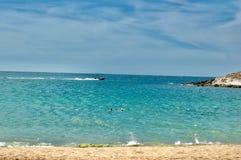 Spiaggia nel Venezuela Fotografia Stock