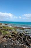 Spiaggia nell'isola di Fuerteventura Fotografie Stock Libere da Diritti