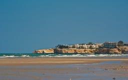 Spiaggia nell'Oman Fotografie Stock Libere da Diritti