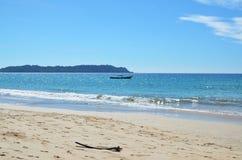 Spiaggia in ngapali Fotografie Stock Libere da Diritti