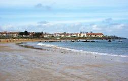 Spiaggia Noja, Cantabria Immagine Stock Libera da Diritti