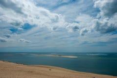 Spiaggia in Normandia immagine stock libera da diritti