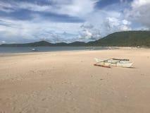 Spiaggia nuda Immagini Stock