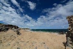 Spiaggia occidentale Isola del pinguino Parco marino delle isole di Shoalwater Rockingham Australia occidentale Fotografia Stock