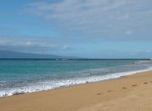 Spiaggia, oceano, cielo fotografia stock