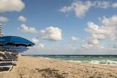 Spiaggia, oceano Pacifico, Florida Fotografie Stock