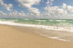 Spiaggia, oceano Pacifico, Florida Immagine Stock