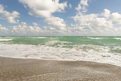 Spiaggia, oceano Pacifico, Florida Fotografie Stock Libere da Diritti