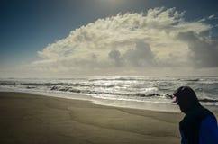 Spiaggia Oregon dell'oro Immagine Stock Libera da Diritti