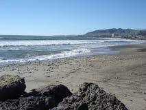 Spiaggia in Oxnard, CA Immagine Stock Libera da Diritti