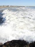 Spiaggia in Oxnard, CA Fotografia Stock