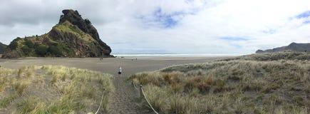 Spiaggia Pano di Piha Fotografia Stock Libera da Diritti