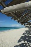Spiaggia paradisiaca in Cuba Immagine Stock Libera da Diritti