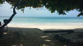 Spiaggia pathar di Kaala, isola del havelock Immagine Stock