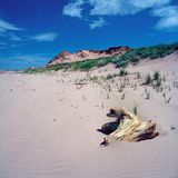 Spiaggia PEI di Brackley immagini stock