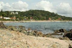 Spiaggia Penha - Santa Catarina - nel Brasile Immagini Stock